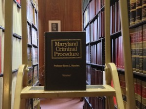 Maryland Criminal Procedure at Baltimore Bar Library